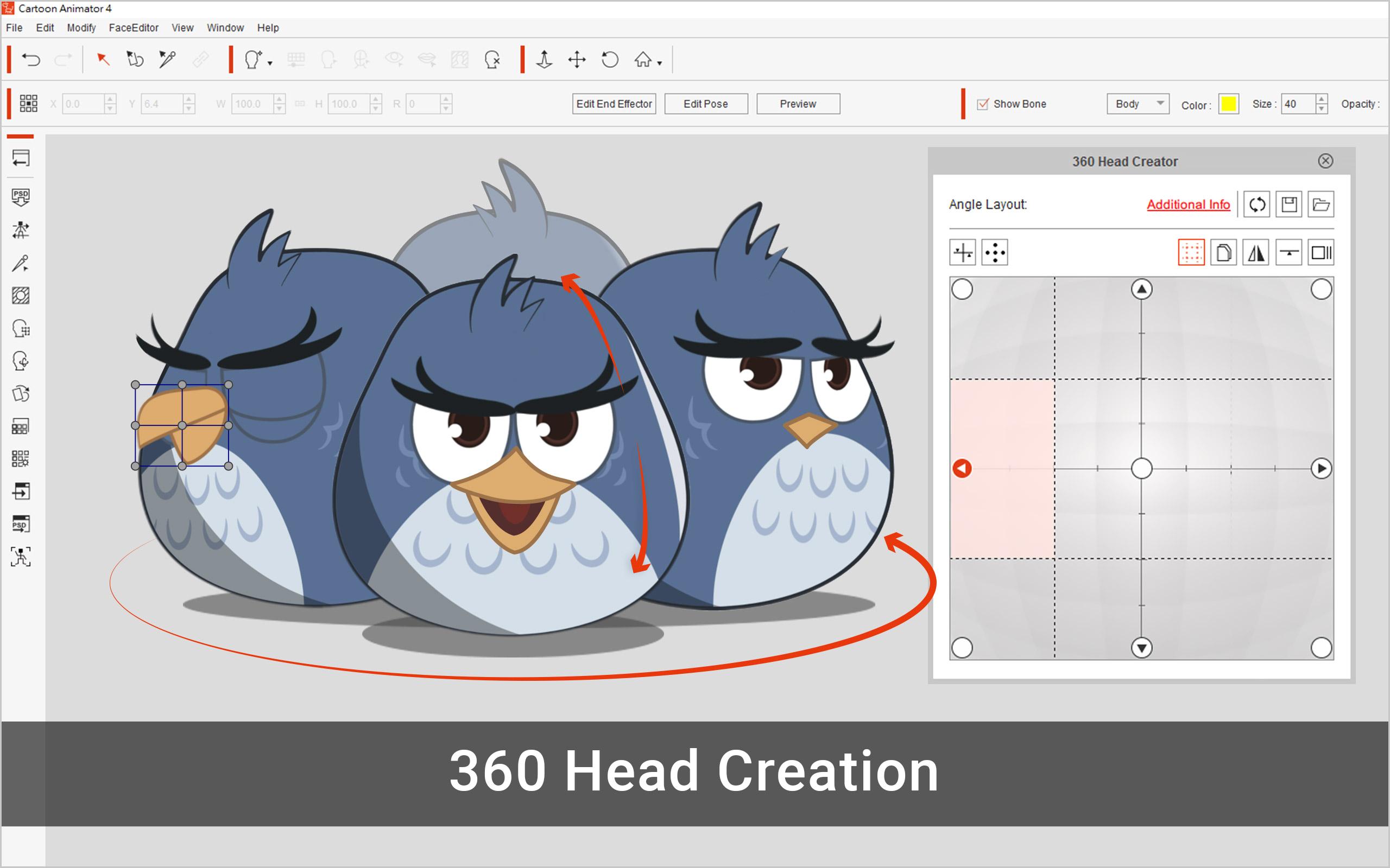 Cartoon Animator, Audio & Multimedia::Multimedia Creation