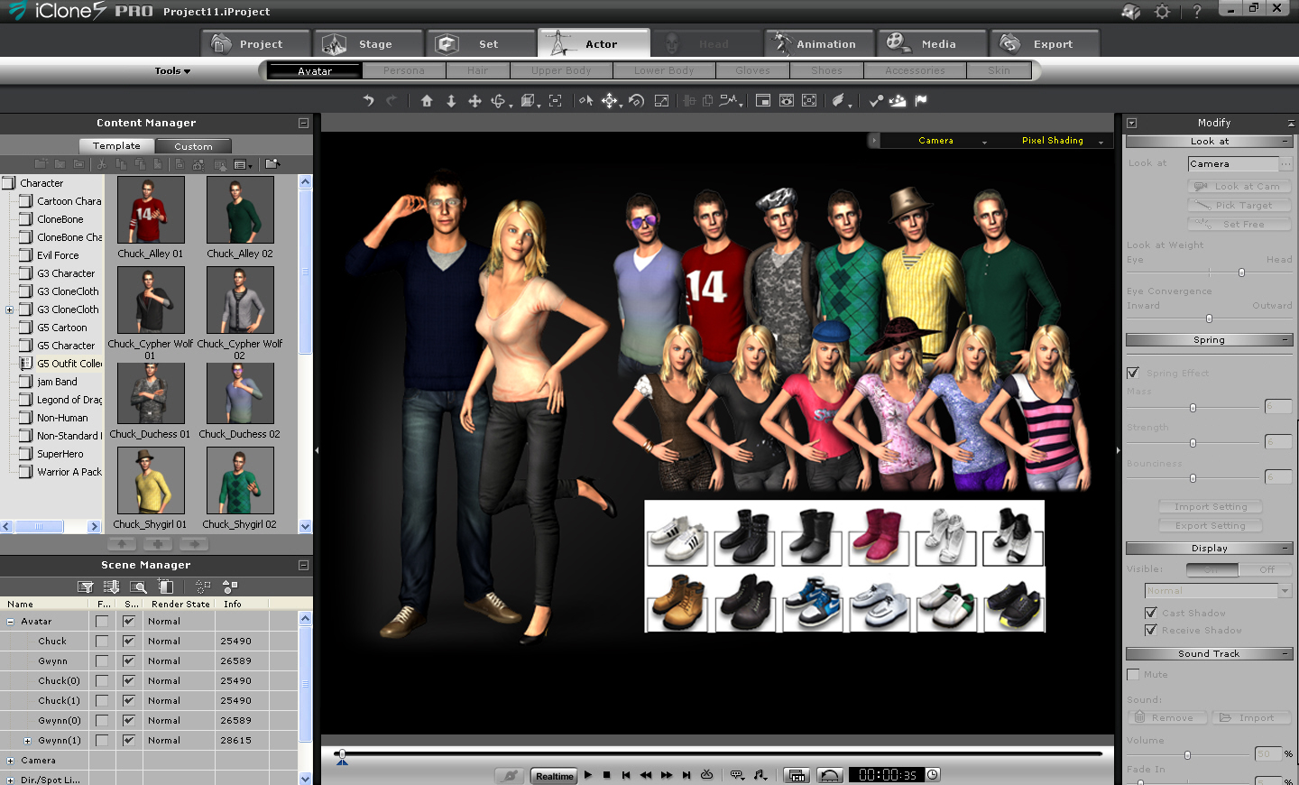 3d Character Design Software Free Download : Reallusion iclone is designed for instant