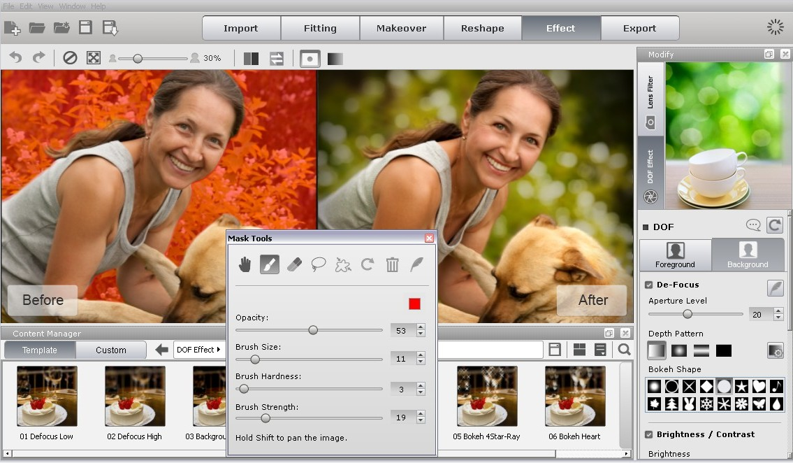 FaceFilter3 is a photo retouching toolkit.