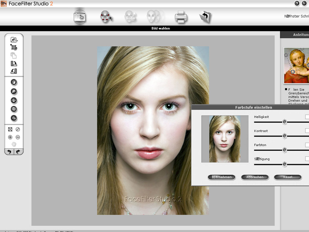 Reallusion FaceFilter Studio 2 (German) 2.0